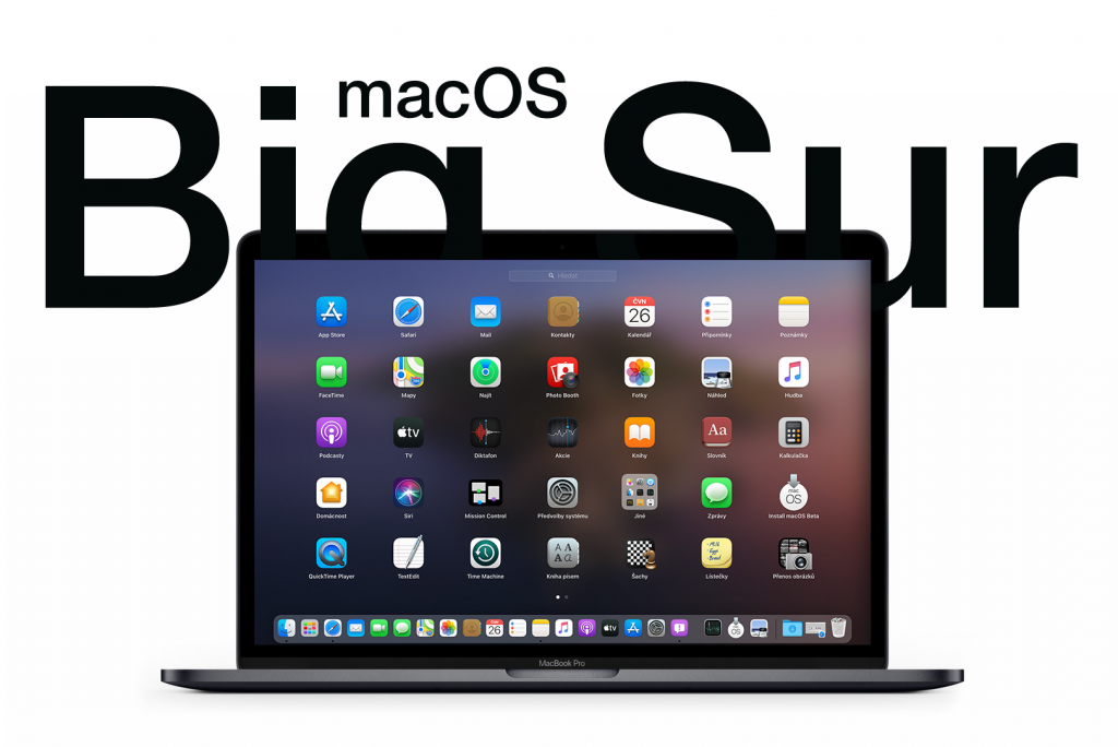 Nový Apple macOS Big Sur