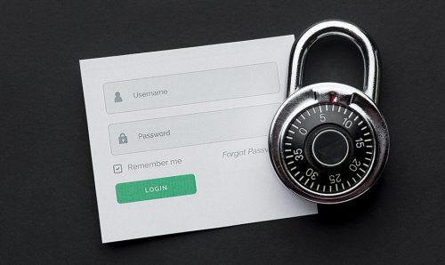 Password manager pro zabezpečení hesel.