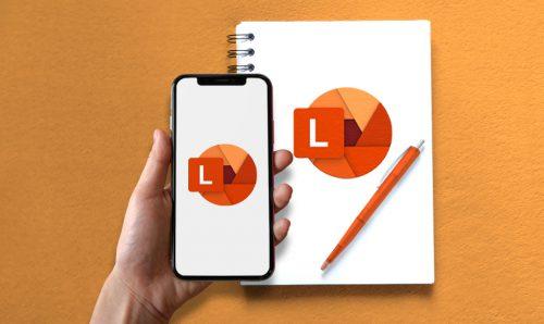 Mobilní aplikace Microsoft Lens