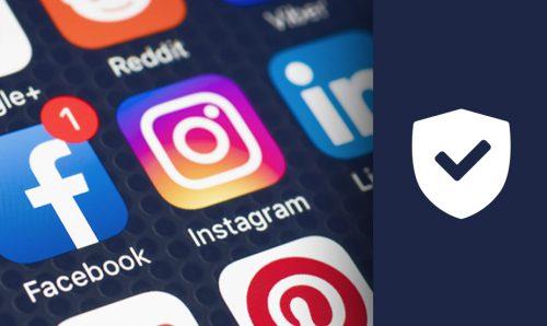 Bezpečnost účtů na sociálních sítích